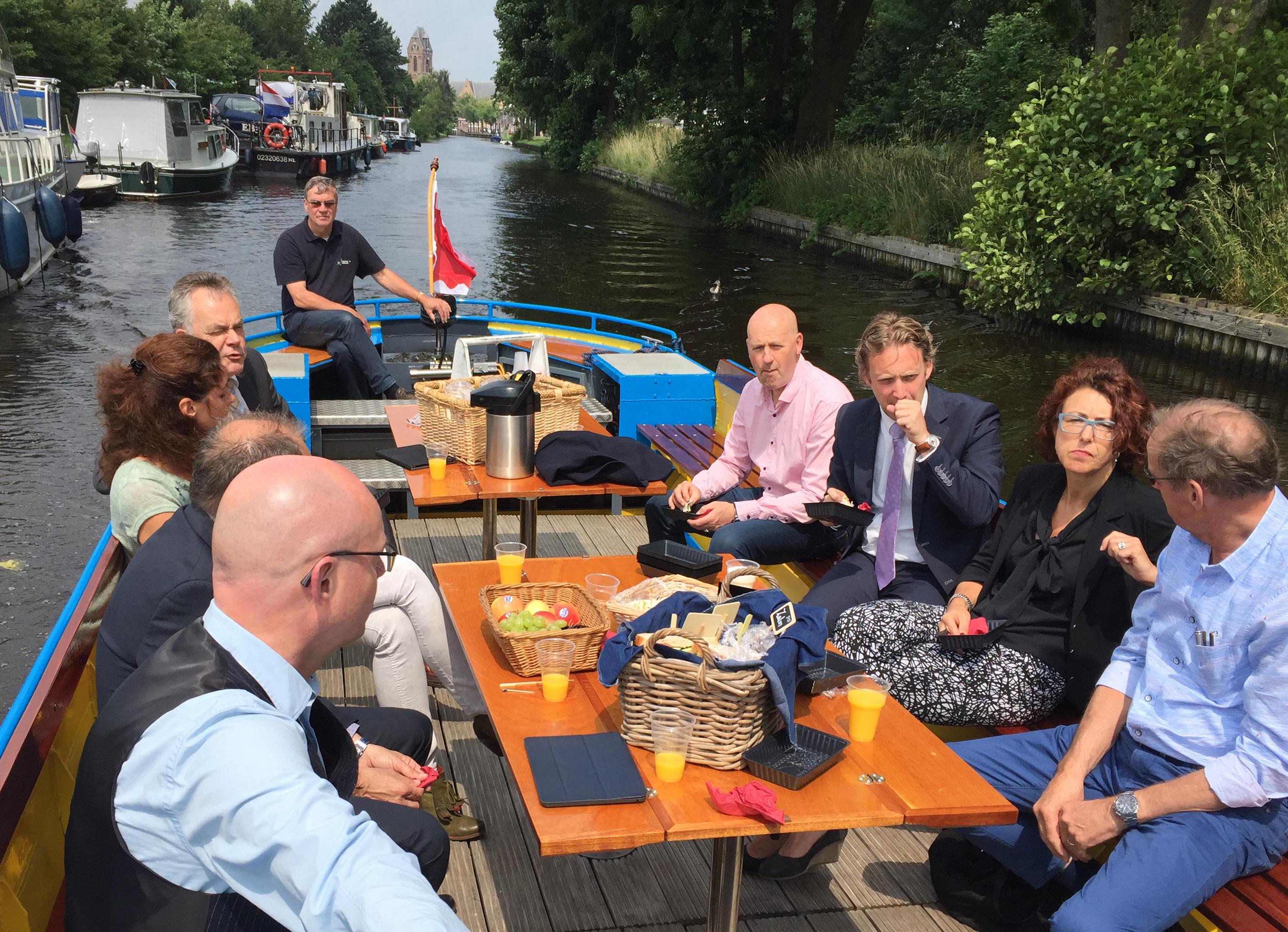 BVO overleg met burgemeester en wethouders Oudewater