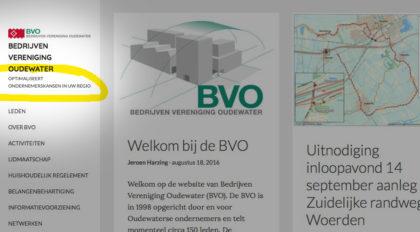 Homepage BVO